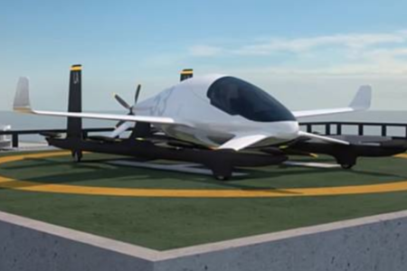 Aurora Flight Sciences eVTOL