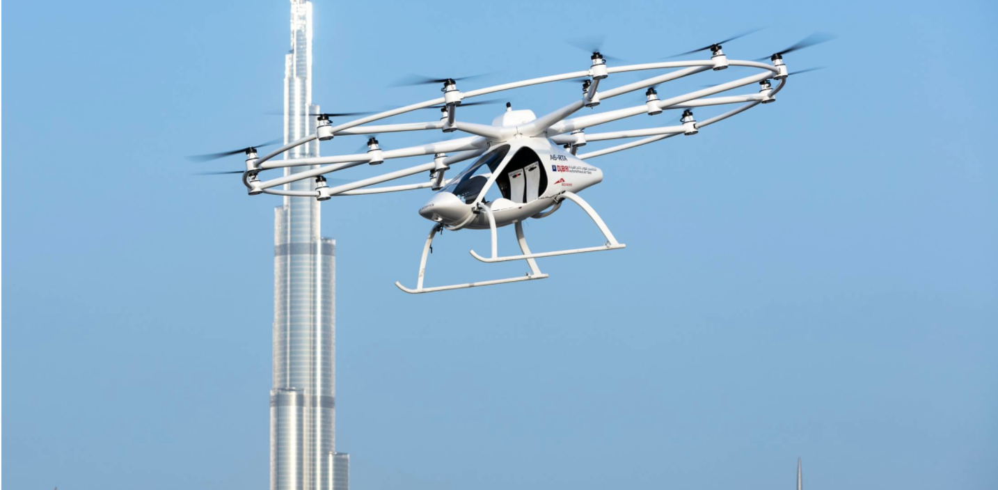 Volocopter Flying eVTOL