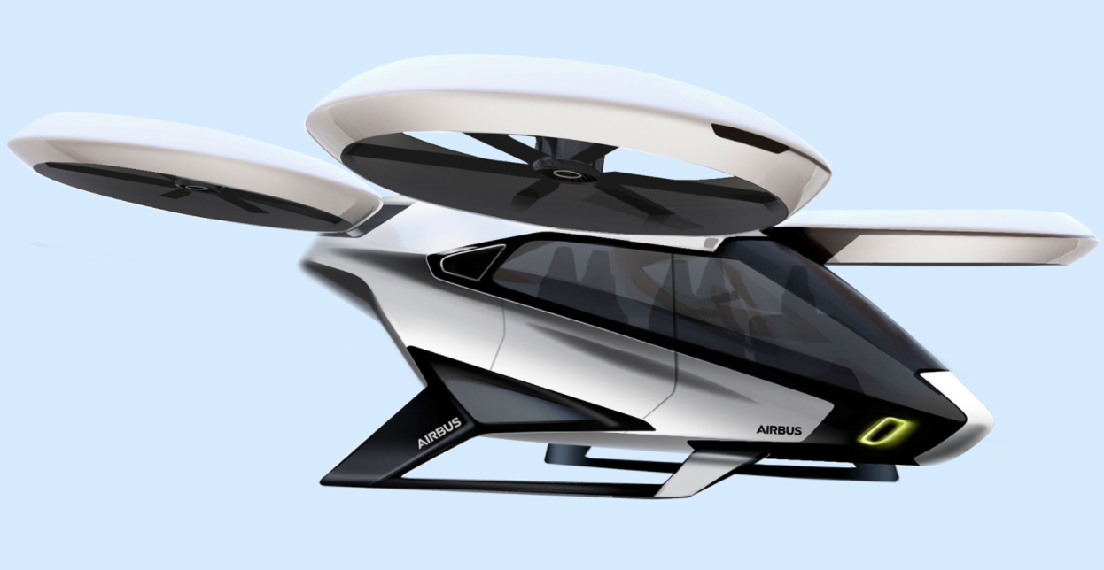 Airbus CityAirbus Flying Taxi