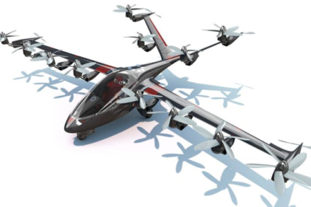 16-fan Joby Aircraft Concept