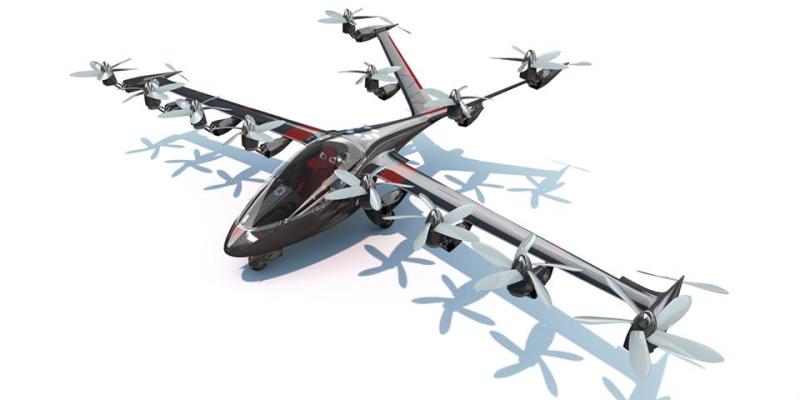 16-fan Joby Aircraft Concept
