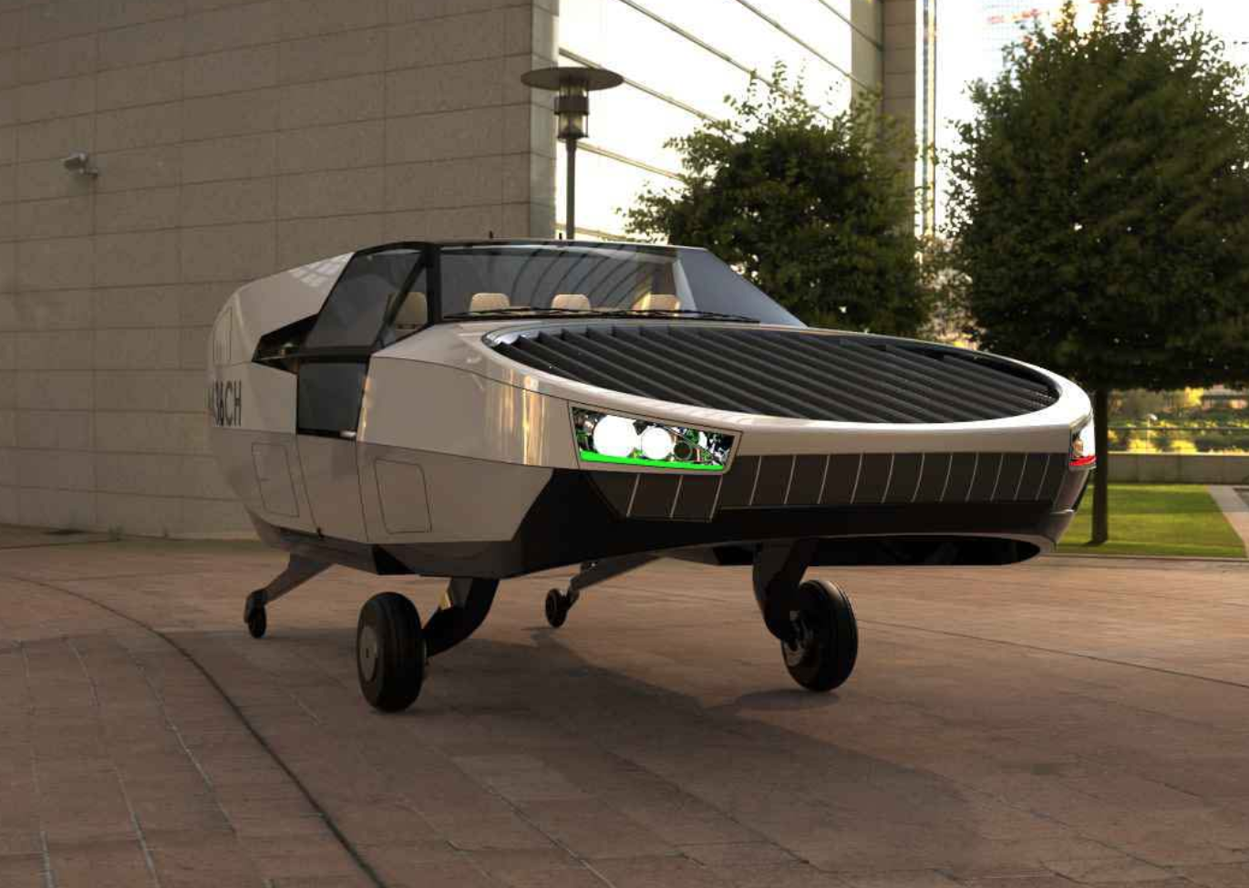 CityHawk Flying Car Front View