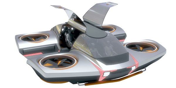 Dekatone Flying Car