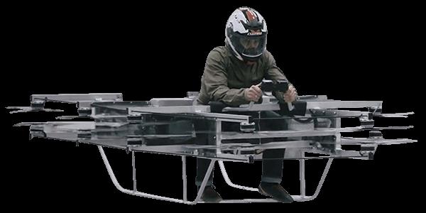 Kalashnikov Hover Bike