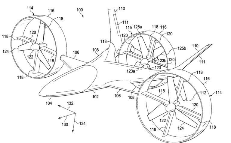Bell Air Taxi Patent