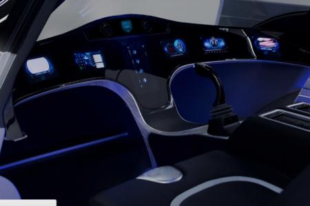 Bell Air Taxi Interior