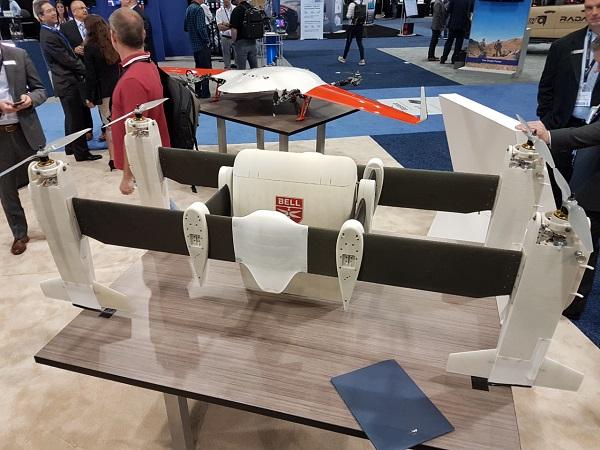 Bell Autonomous Transport Pod Concept Model