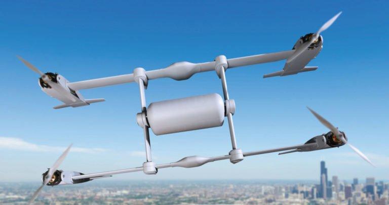 Bell's Autonomous Pod Transport Concept