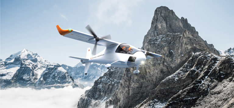 DarFour's aEro1 in the Swiss Alps