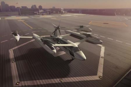Uber Air's eVTOL concept