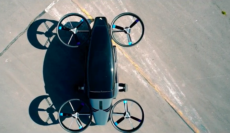 Vertical Aerospace Flying Car Aerial View