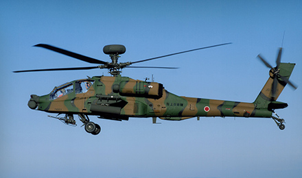 AH-64D attack helicopter by Subaru (For Japan Flying Cars)