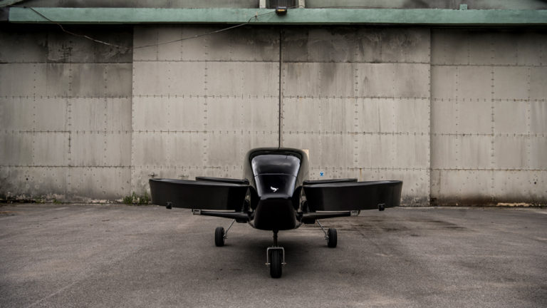 Vertical Aerospace Flying Car Head on