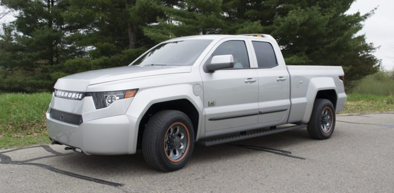 Workhorse Surefly's electric pickup truck