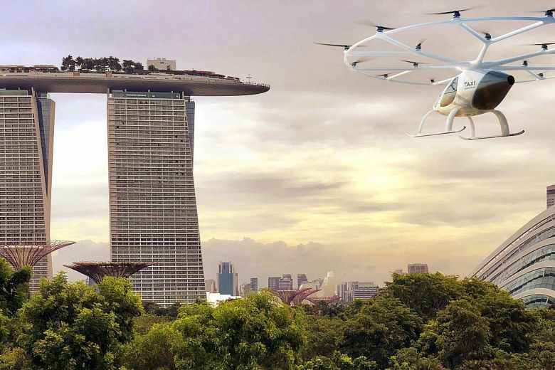 Volocopter Media Concept Photo