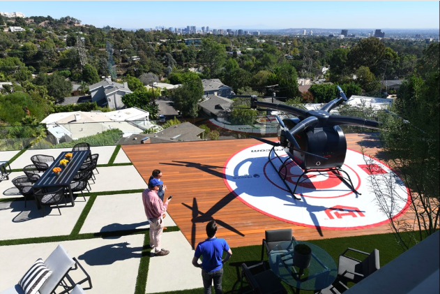 Flying Car Landing Pad in West LA