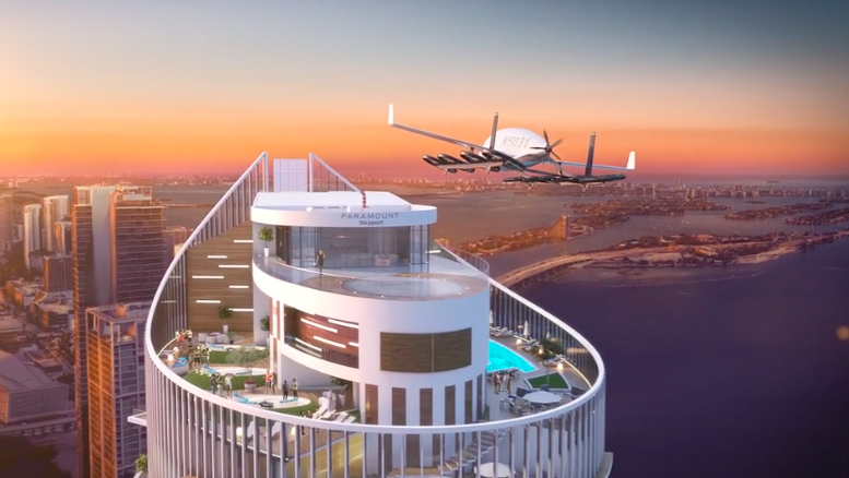 Amazon HQ2 and others plan on helipads/vertiports