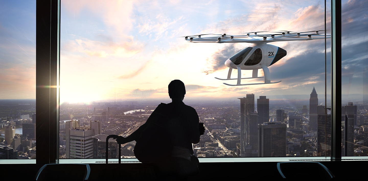 Volocopter Air Taxi Concept Photo