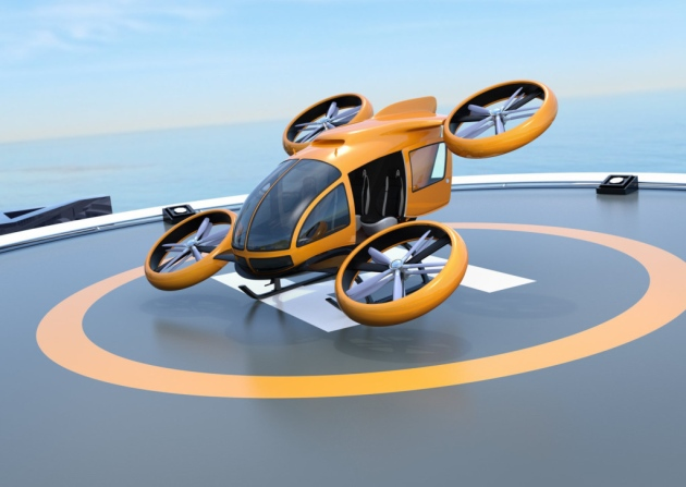 Example of VTOL design the new proposal may apply to