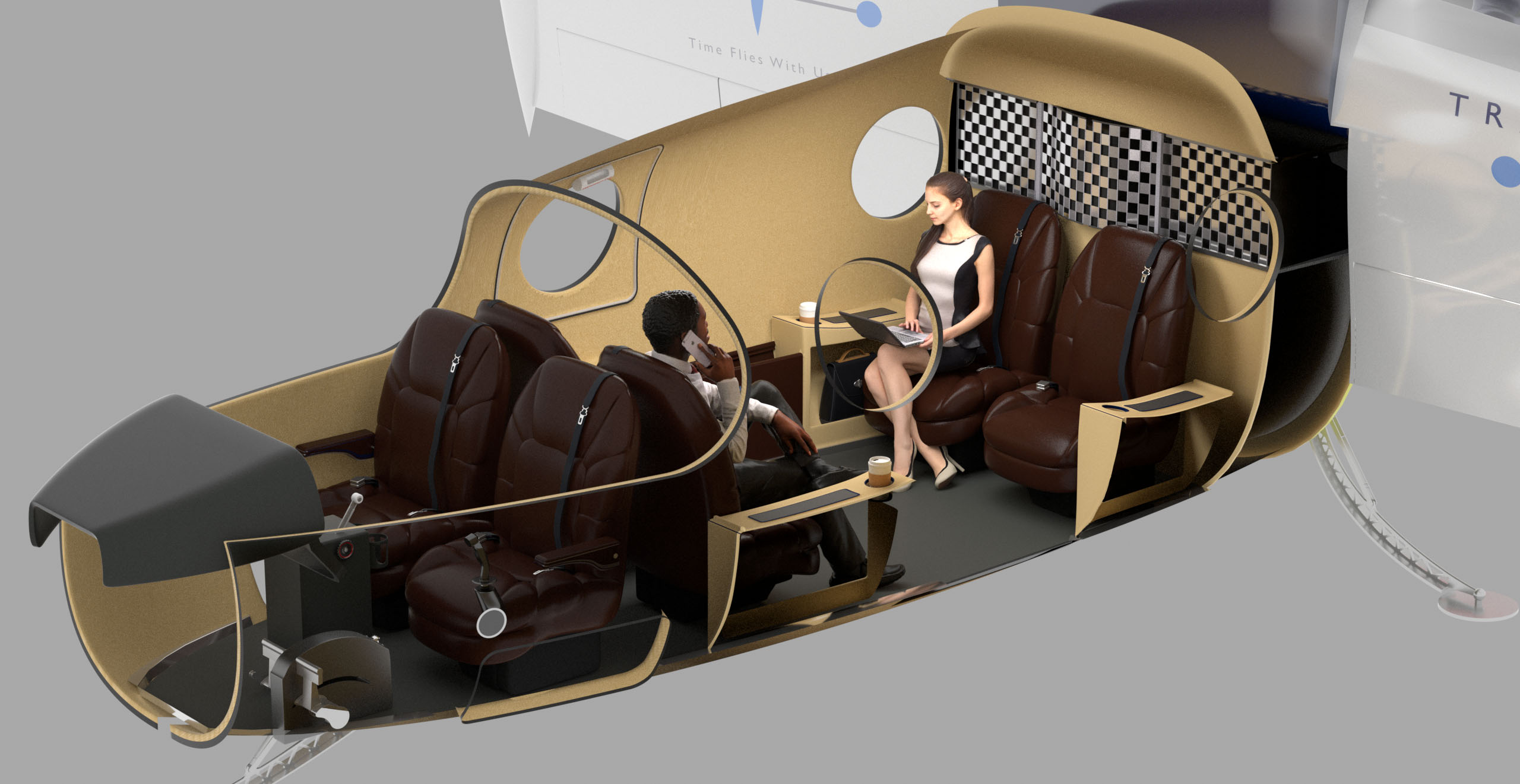 Transcend Air Interior