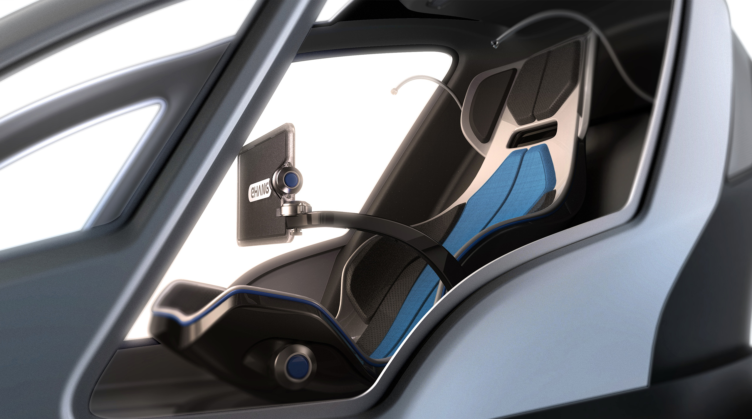 EHANG184 Single Seat Interior