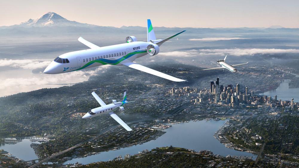 Zunum Aero in the Skies