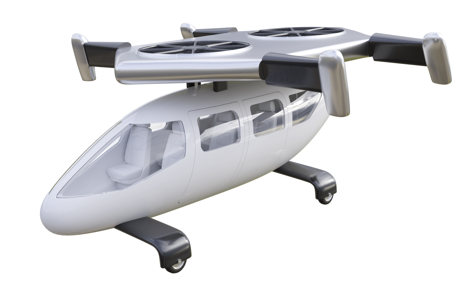 Previous version of the Jetcopter