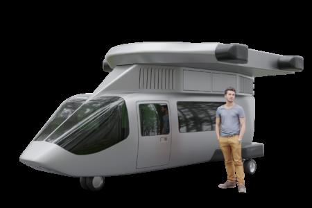 Jetcopter VTOL