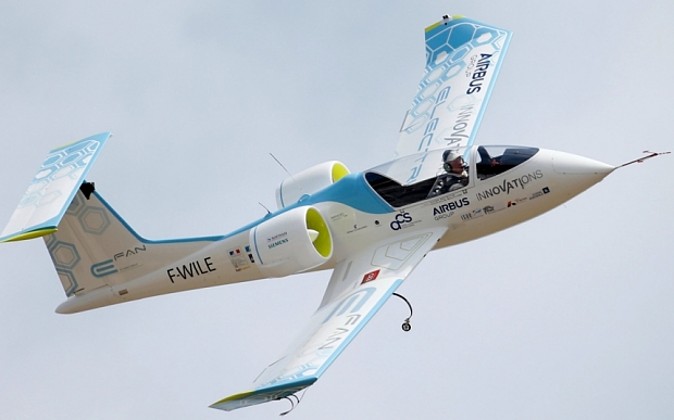 Voltaero Founder Jean Botti's previous project–The Airbus E-Fan