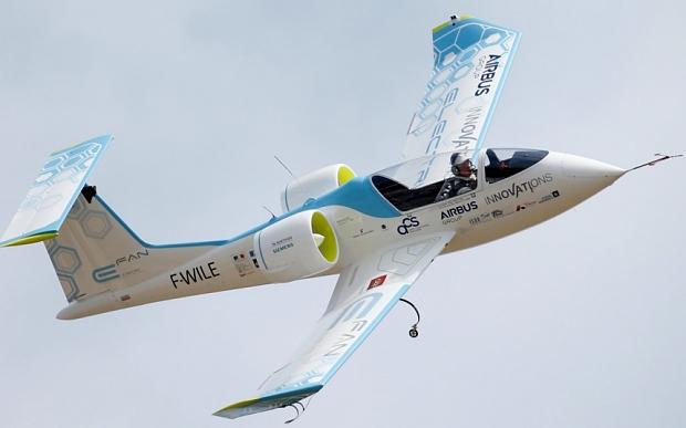 Voltaero Founder Jean Botti's previous project–The Airbus E-Fan