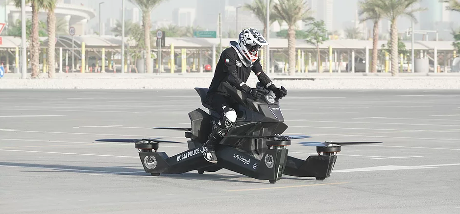 Hoversurf sells S3 Hoverbike to Dubai Police