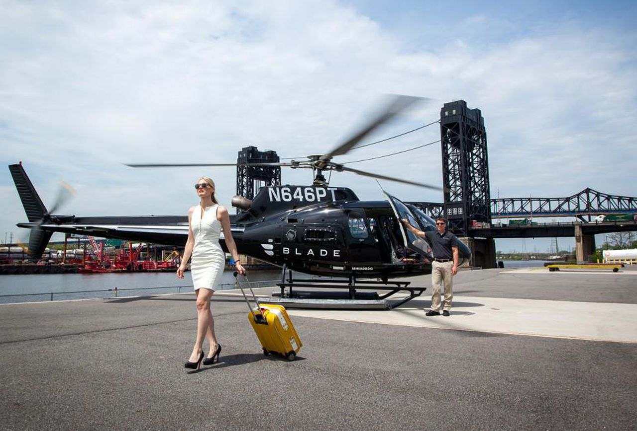 Blade, like future Amazon HQ2, has helicopters in New York