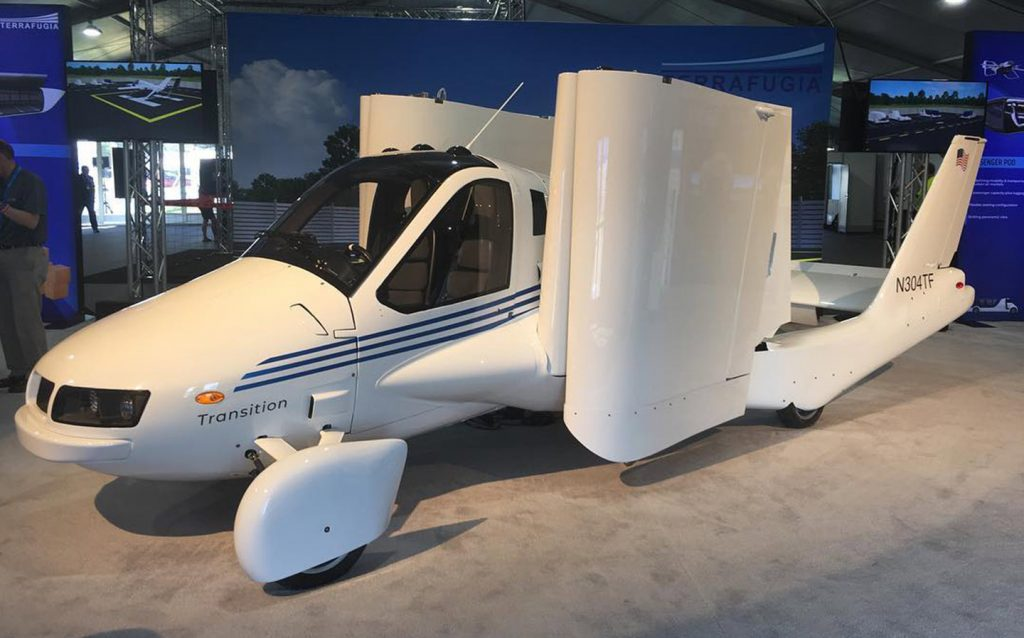 Terrafugia's 'Transition' Flying Car