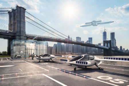 Lilium Air Taxi hires from Audi and Airbus