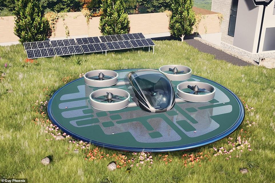 VRCO NeoXCraft landing pad