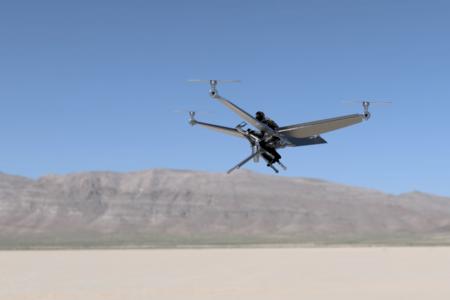 Electrafly Deseret vtol hybrid electric
