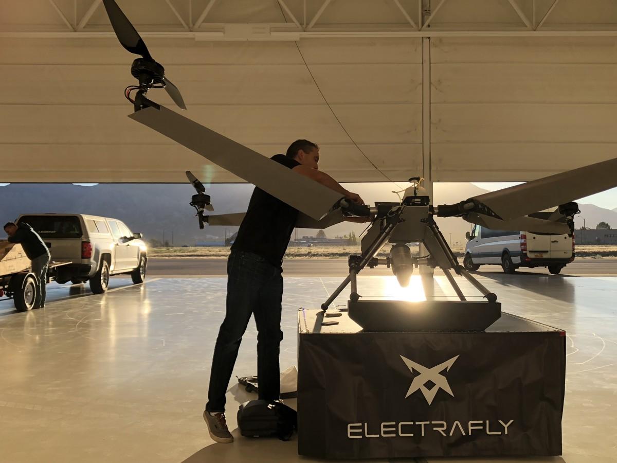 Electrafly Electraflyer John Manning Deseret vtol hybrid electric