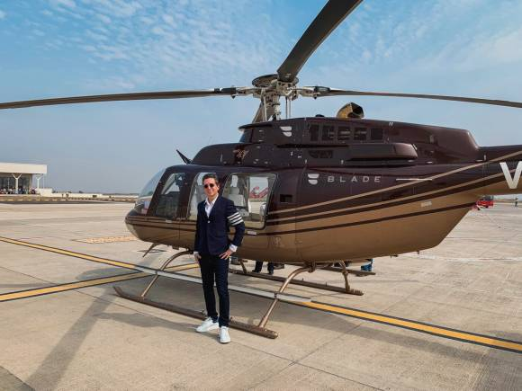 Blade Aviation extends to India