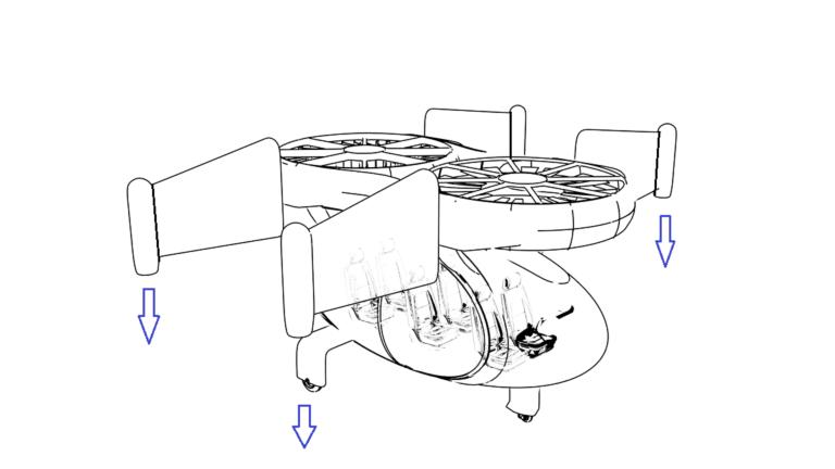 Jetcopter turbine system