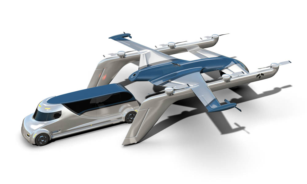 Terrafugia TF-2 air vehicle concept docking GAMA