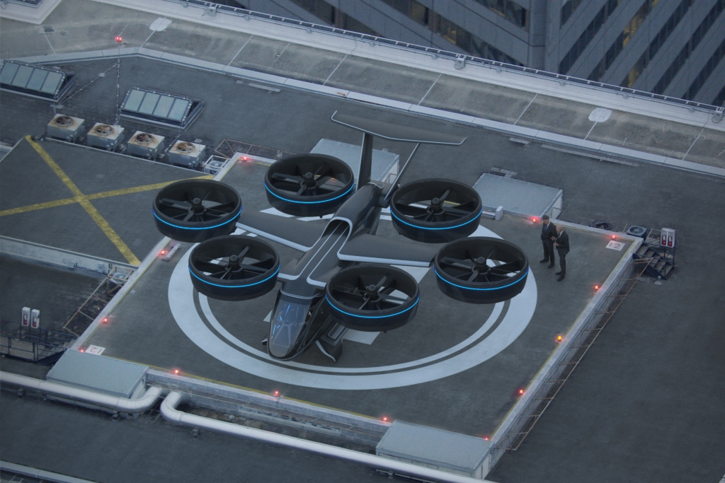 Bell Nexus on Vertiport