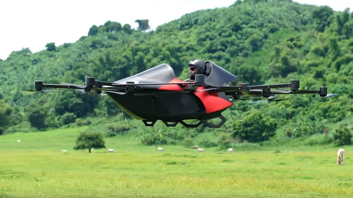 Koncepto Millenya 'Drone Car