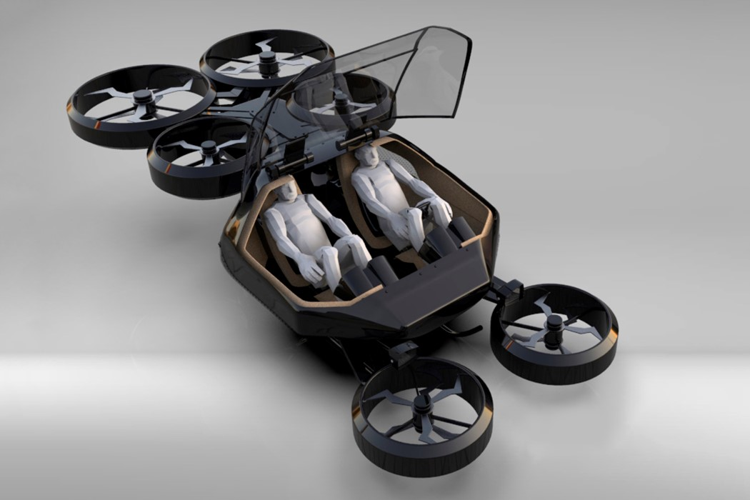 Onyx eVTOL flying car by Imagineactive
