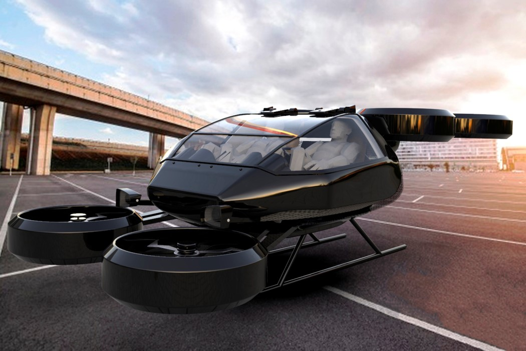 Onyx eVTOL Flying Car by Imaginactive