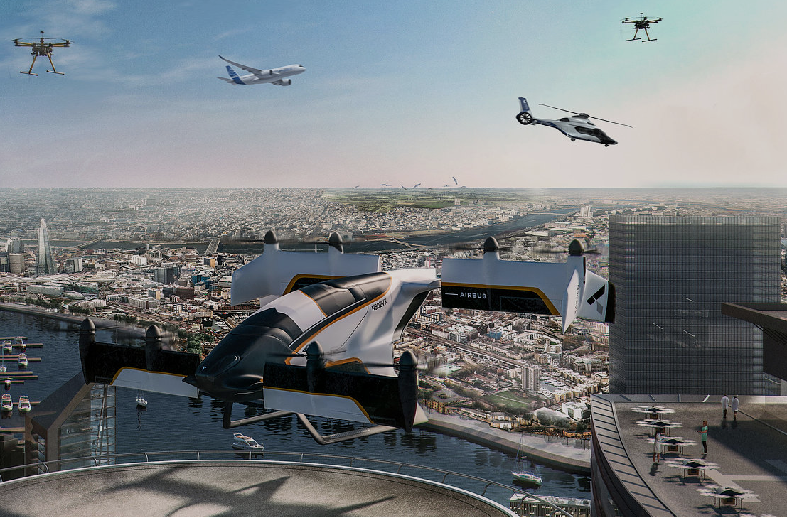 Airbus Vahana in the future of Urban air Mobility
