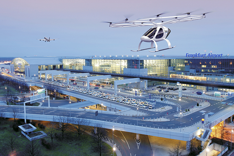 Volocopter and Frankfurt Airport
