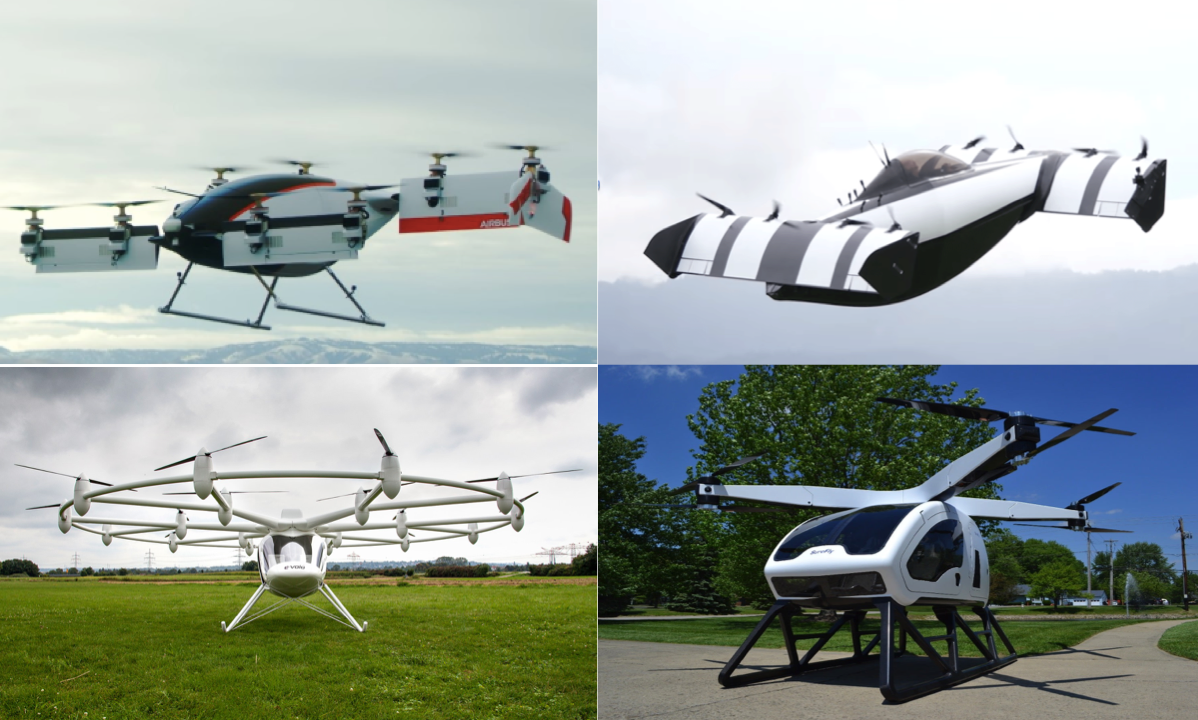 Air Taxis and Carbon fiber