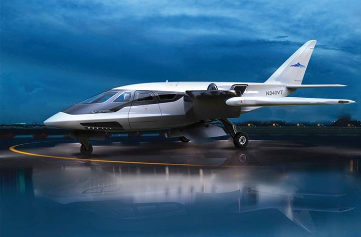 The XTI TriFan 600, and example of an eVTOL that uses hybrid electric propulsion