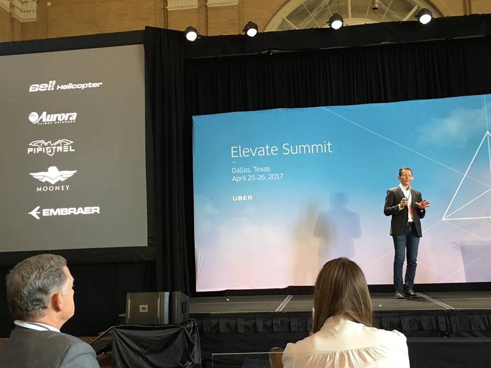 Uber Elevate 2017 in Dallas, when Pipistrel announced its partnership with Uber Elevate