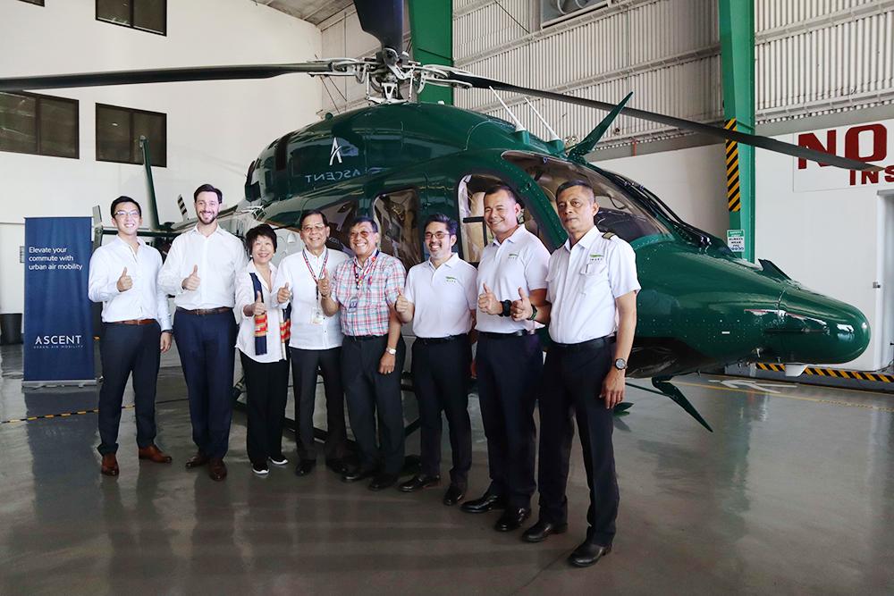 Ascent Urban Air Mobility team